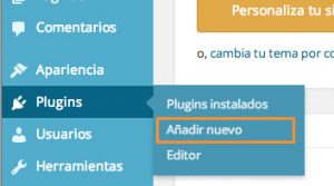 Añadir plugin WooCommerce a WordPress