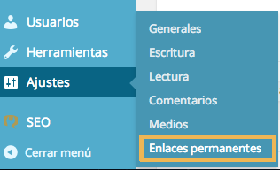 Ajuste de enlaces permanentes de productos en WooCommerce