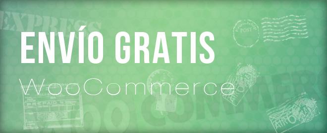Configurar gastos de envío gratis en WooCommerce