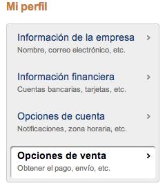 Configurar opciones de venta en Paypal para WooCommerce