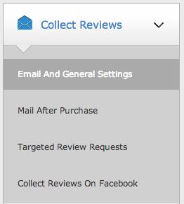 Ajustes generales enviar email valoración producto WooCommerce