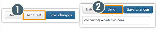 Enviar email de prueba Yotpo en WooCommerce