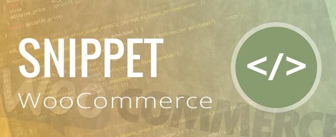 Añadir códigos snippet en WooCommerce de forma correcta