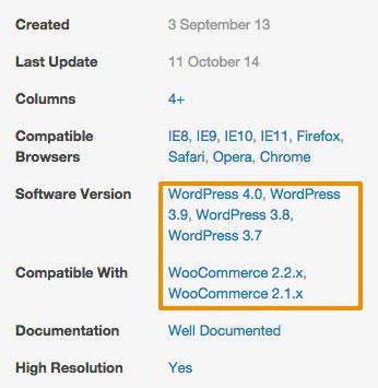 Tema premium WooCommerce compatible con última versión