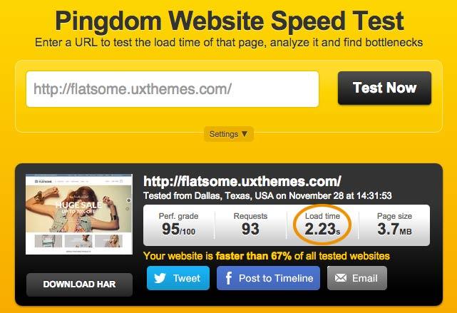 Tema premium WooCommerce con velocidad de carga rápida