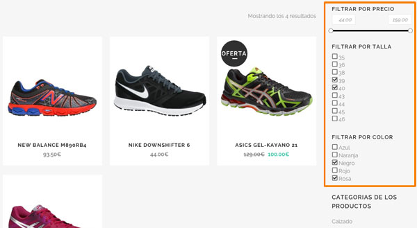 Buscador AJAX productos WooCommerce