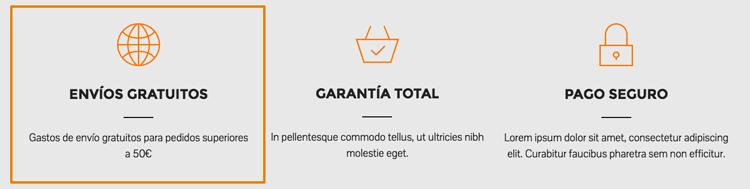 Mostrar condiciones envíos tienda WooCommerce