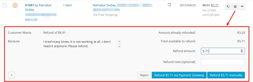 Gestionar devolución automática en WooCommerce