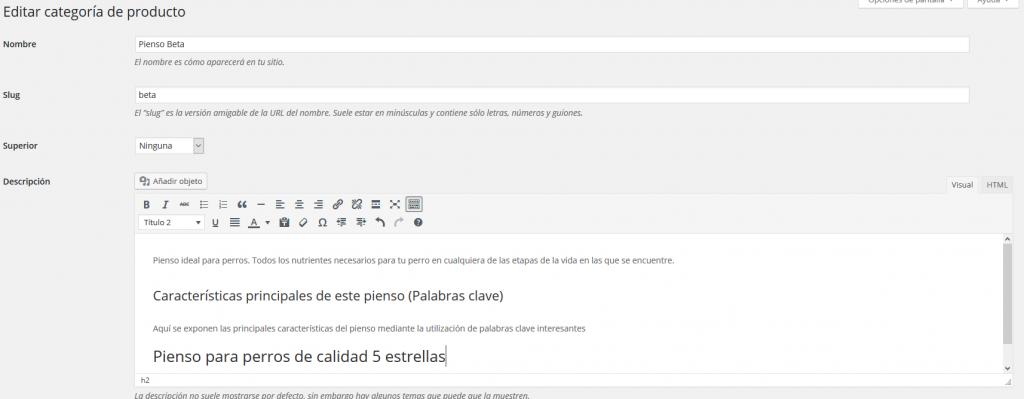 Imagen Editor categoría