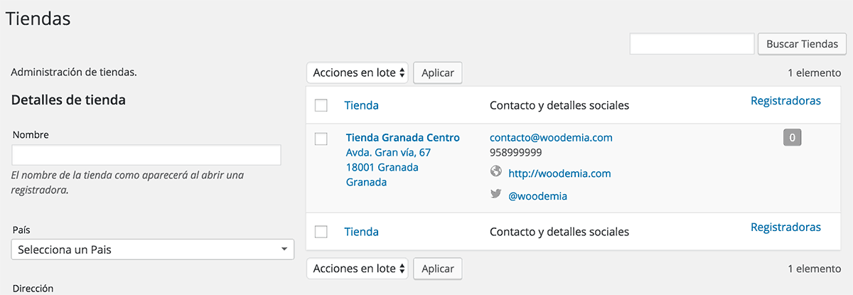 Conectar tienda física con WooCommerce