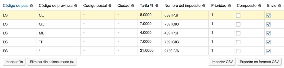 configurar-igic-canario-ipsi-ceuta-melilla-woocommerce