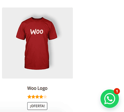 Notificación mensaje pendiente WhatsApp WooCommerce