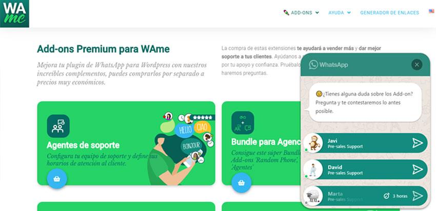 whatsapp para web con varios números de teléfono